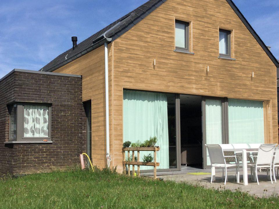 Maison ossature bois basse énergie