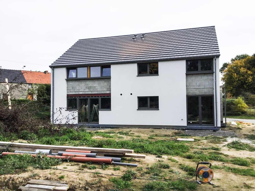 habitations jumelées basse énergie - Geoffrey Carion architecte