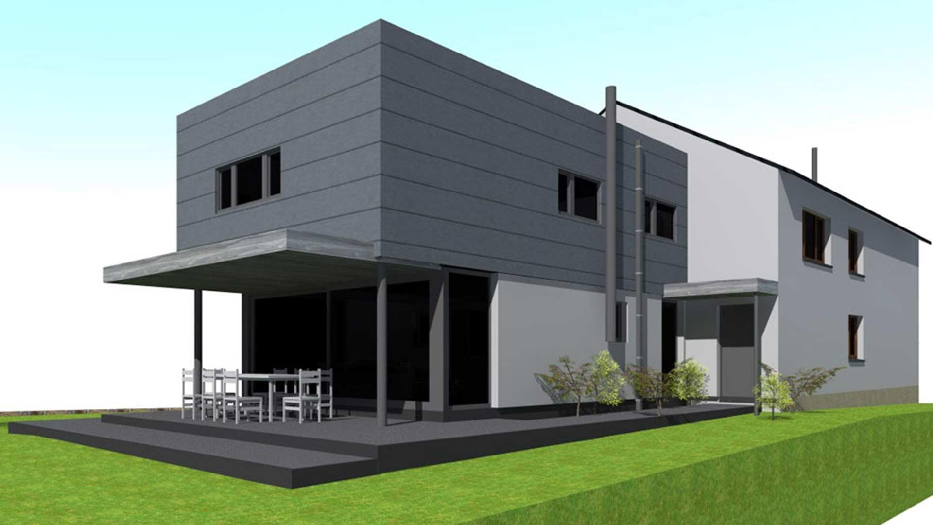 renovation maison architecte extension et et transformation boneffe. Black Bedroom Furniture Sets. Home Design Ideas